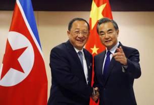Ri Yong Ho,Kim Jong Un, north korea, china