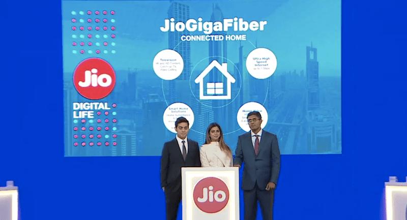jio, jio gigafiber, reliance , airtel , bsnl , broadband service