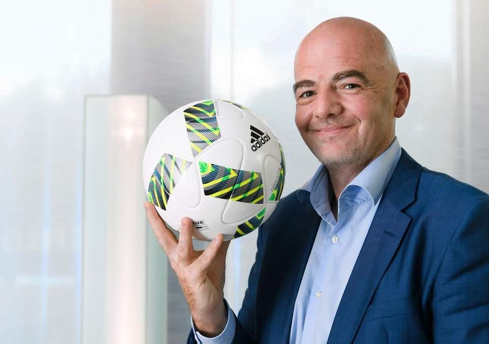 junior football team thailand,Gianni Infantino,FIFA World Cup,FIFA chief