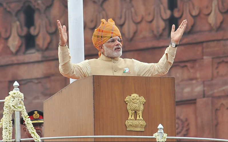 PM Modi ,Narendra Modi speech ,Independence day ,india News
