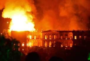 Rio de Janeiro, fire in museum, brazil, World News