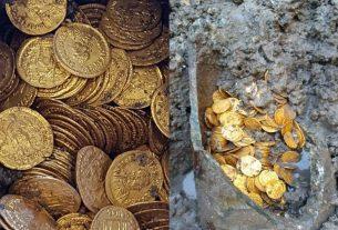 Roman coins, Italy, Gold coin, World News