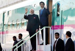 Shinzo Abe, Modi in Japan, Modi, Bullet train, india News