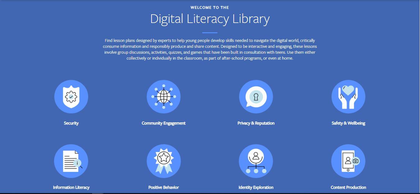 Facebook feature, facebook digital literacy library, facebook, Gadgets News,digital literacy library