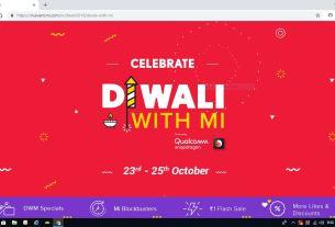 Xiaomi Diwali sale, Xiaomi, tech news, redmi note 5 pro, Flipkart, Diwali with Mi, tech New