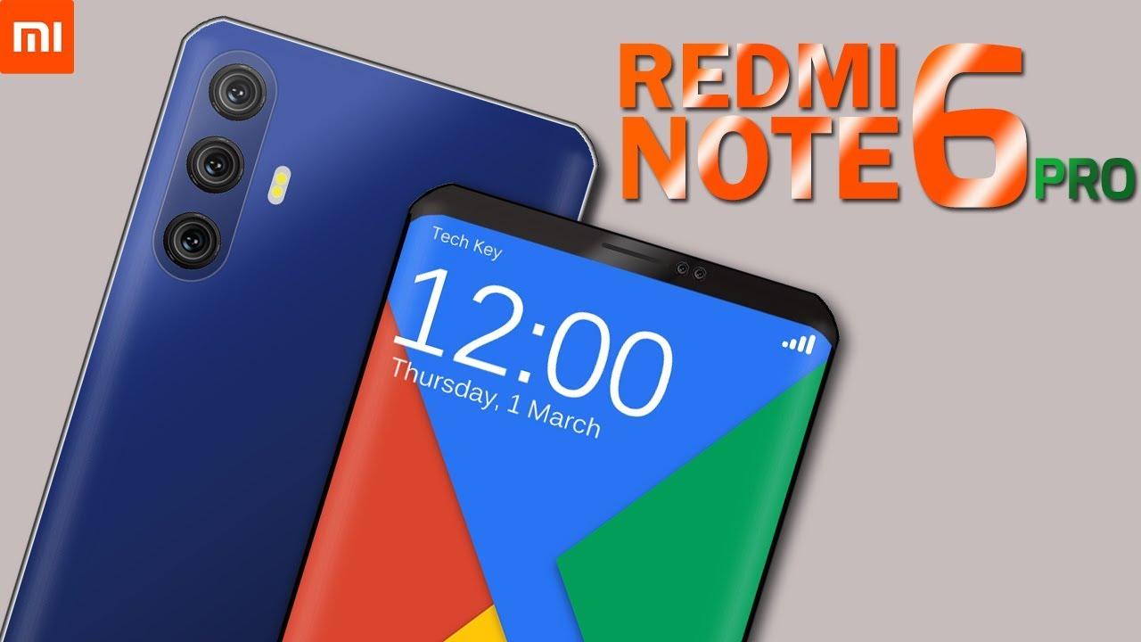Xiaomi smartphone, xiaomi redmi note 6 pro, xiaomi 48-megapixel camera, Gadgets News