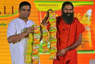 patanjali, ramdev baba, patanjali business down, financial data , tofler
