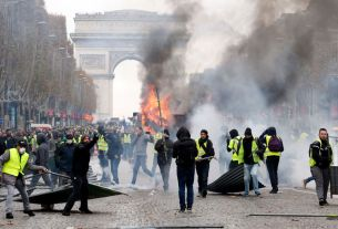 riots in paris, Paris, fuel hike in france, france, civil unrest, Rest of Europe News