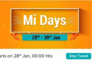 xiaomi mi days, Redmi Note 6 Pro, redmi note 5 pro, poco f1, Flipkart sale, best deals, Gadgets News