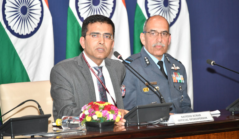 one pilot missing, mea statement, india strike in pakistan, india News