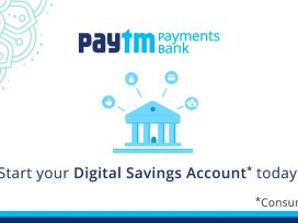 Paytm Payments Bank launches its mobile app.