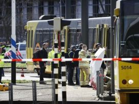 Now, Attack in the Netherlands: A gunman killed three people in the tram in the city of Utrecht.