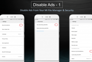 Xiaomi Ads Disable, Xiaomi smartphones, miui 11, Xiaomi Ads