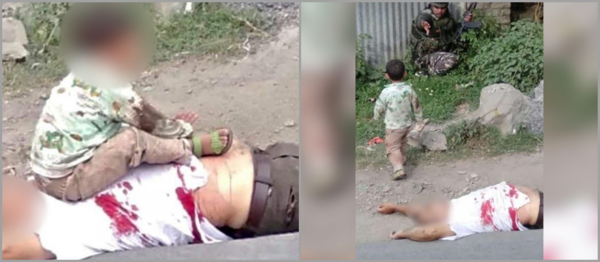 3-year-old boy,Bashir Ahmed,CRPF,Jammu and Kashmir,Kashmir,Kashmir militancy,militant attack in Sopore,Sambit Patra,Sopore encounter,Sopore police,Vijay Kumar