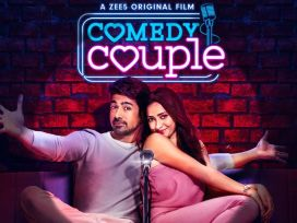 "comedy couple, comedy couple movie review, comedy couple review, shweta basu prasad, saqib saleem, rajesh tailang, comedy couple ZEE5"" />"