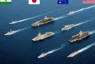 australia, india, us , japan, malabar exercise 2020