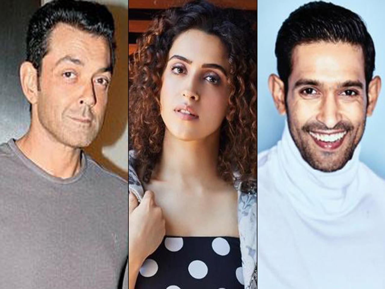 Sanya Malhotra, Vikrant Massey, Bobby Deol, Red Chillies Entertainment, Drishyam Films, Love Hostel, Love Hostel movie