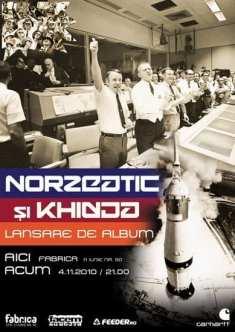 """Lansare album Norzeatic şi Khidja – """"Aici acum"""" @ Fabrica"""