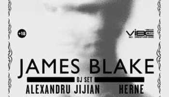 JAMES BLAKE (dj set) @ Palatul Ghika