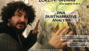 Nicolae Comănescu deschide Zorzini gallery - DNA - Dust Narrative Analysis