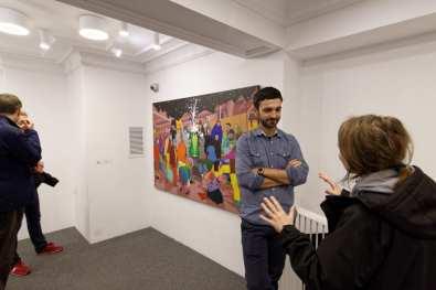Cărturești Carusel x Galeria H'art vernisaj George Anghelescu