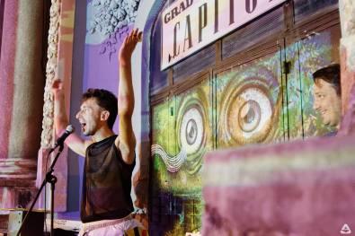 BTLT: Weekend @ Teatrul de vară Capitol part II - #FLUID, Aural Eye & Pisică Pătrată