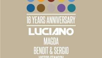 The Mission 16 YRS Anniversary w/ Luciano, Magda, Benoit & Sergio, Victor Stancov @ Sala Polivalentă