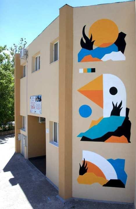 Pren mural Tulcea