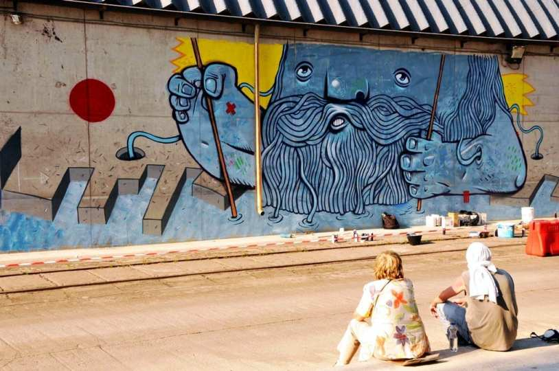2014 Pisica Patrata street art contest Port constanta