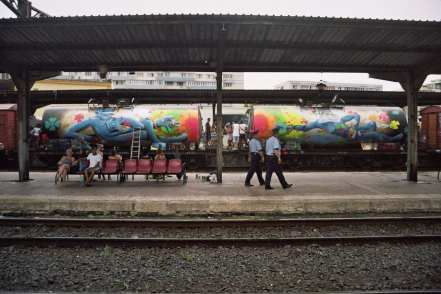 IRLO & Kero at Train Delivery 2014