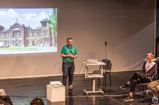 Teodor Frolu The Ark Reactivarea patrimoniului provocări și beneficii @ CNDB