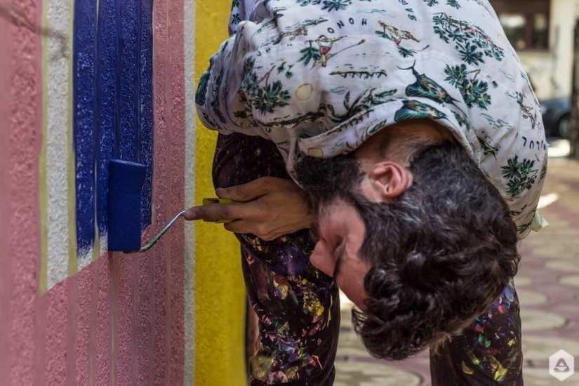 BTLT: Pictăm pereți #8 cu KITRĂ @ Lente
