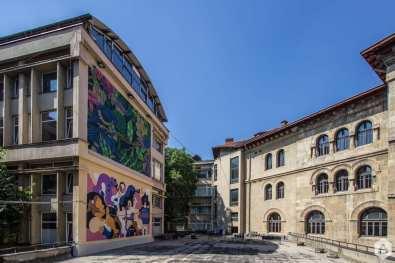 Hedof (NL) / Saddo / 2017 / University of Architecture / Academiei 18 - 20 Un-hidden Bucharest