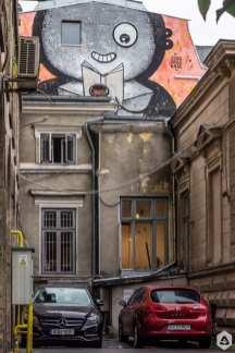 Pisică Pătrată @ Cărturești Magheru Un-Hidden Bucharest