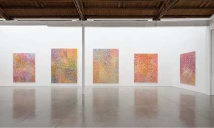 Damien Hirst- The Veil Paintings Gagosian Beverly Hills