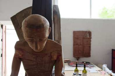Zilele atelierelor deschise de sculptură - Mircea Roman @ Combinatul Fondului Plastic