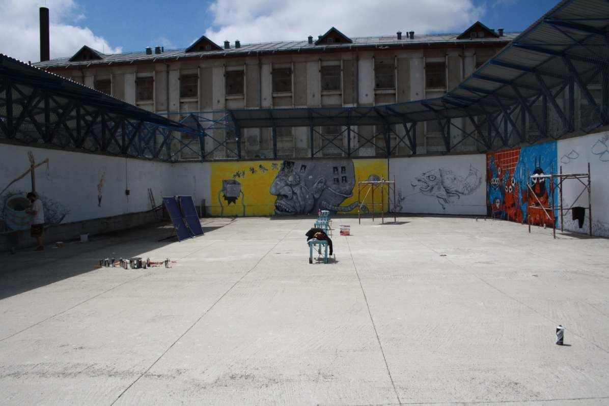 Robert Obert Street Delivery penitenciarul Iași 2018 4