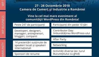 WordCamp Bucuresti 2018