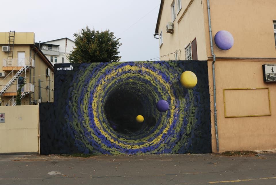 iZZY iZVNE - mural in Chisinau