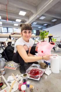 Alina Marinescu / photo Cătălin Georgescu, Visual Playground 2017, Debbie Millman workshop