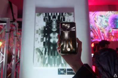 Music edition curated by One Night Gallery - Augmented Reality