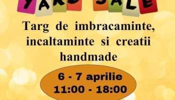 jAdor Yard Sale 6 - 7 aprilie
