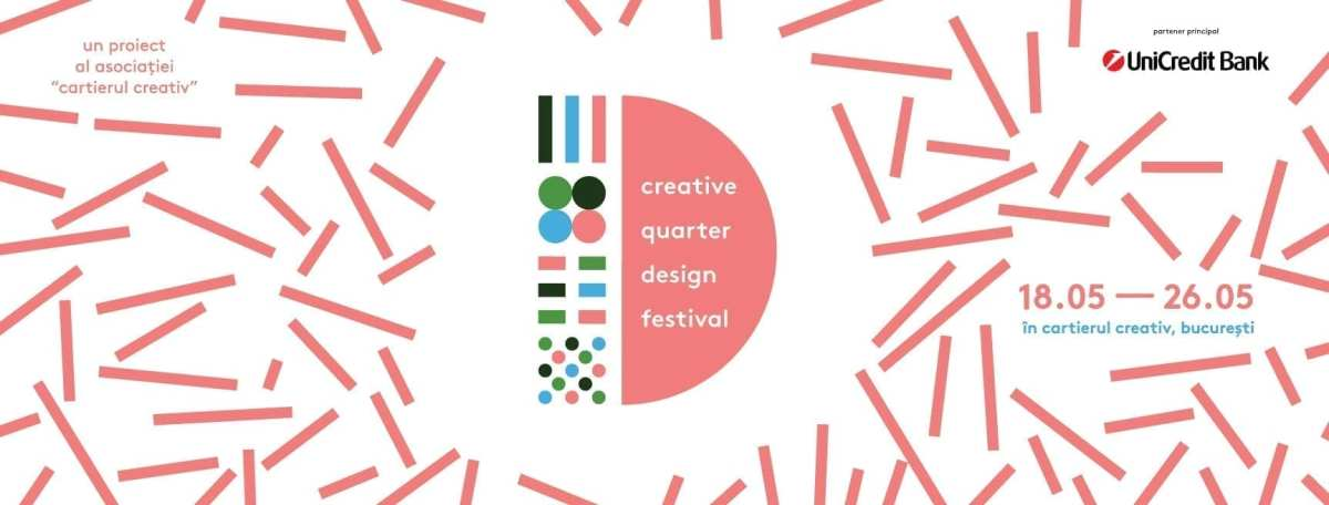 Creative Quarter Design Festival, the first major festival of the Creative Quarter, will be held between 18th and 26th of May