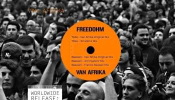 First EP release by Rebellie – Freedohm by Van Afrika RM001