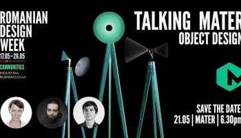 Talking MATER | Design de Obiect