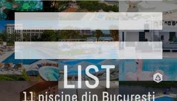LIST: 11 piscine din București unde poți să te bucuri de apă și soare 2019