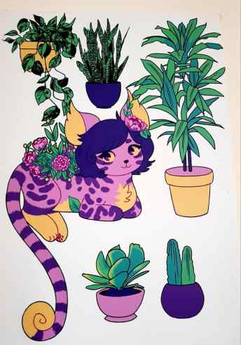 Alma Laura Parasca - Plants Study