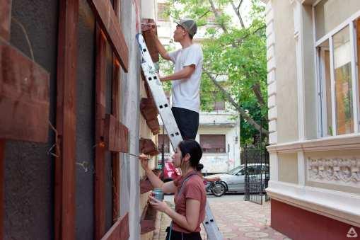 Japanese street artist Aito Kitazaki at Lente 34