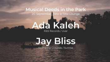 Musical Deeds in the Park: Ada Kaleh & Jay Bliss