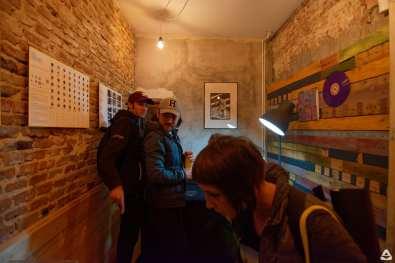 Un-hidden Romania street art exhibition x Acuarela